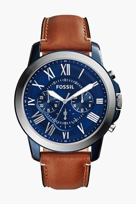 Mens Chronograph Leather Watch - FS5151I