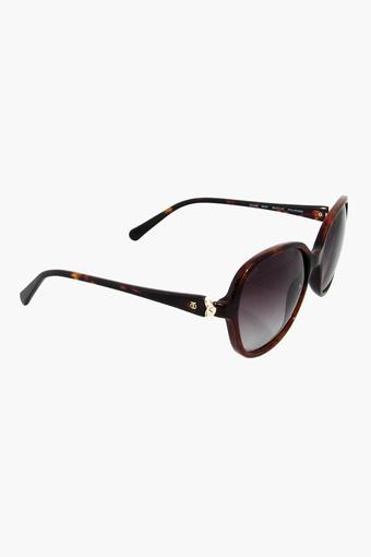 Womens Round- framed Gradient Sunglasses - GC288BR2P