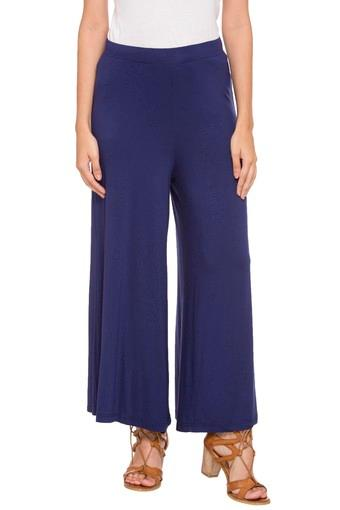 GO COLORS -  Ink Blue Palazzos & Jumpsuits - Main