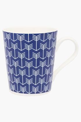 Round Geometric Printed Rio Cupid Mug - 250ml