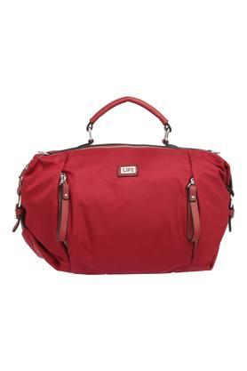 LIFEWomens Zipper Closure Satchel Handbag - 204704084_9607