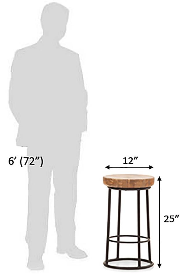 Brown Tena Bar Stool