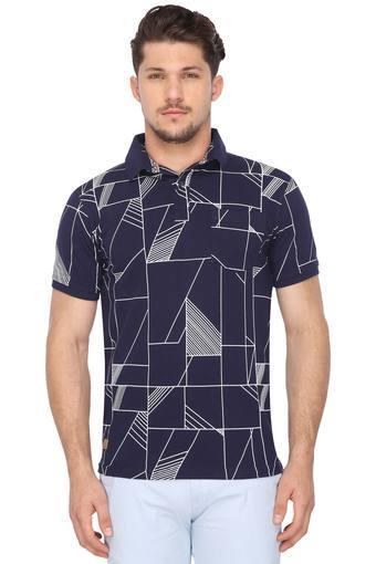 626078cb3b0 Buy EASIES Mens Printed Polo T-Shirt
