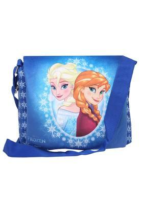 Unisex Zipper Closure Frozen Princess Printed Sling Bag