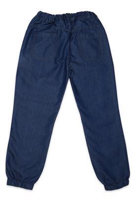 Girls 4 Pocket Rinse Wash Jogger Jeans