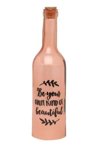 Slogan Printed Bottle Lamp