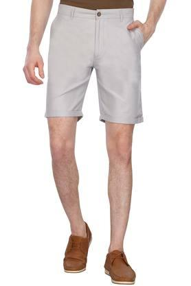 Mens 4 Pocket Slub Shorts