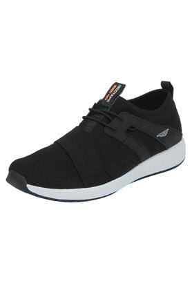 ATHLEISURE Mens Mesh Lace Up Sports Shoes - 203578117_9212
