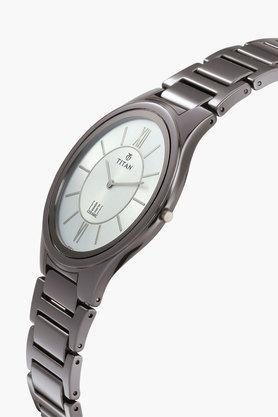 Mens Edge Ceramic Silver Dial Watch 1696QC02