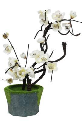 Bonsai Cherry Blossom Artificial Potted Flowers