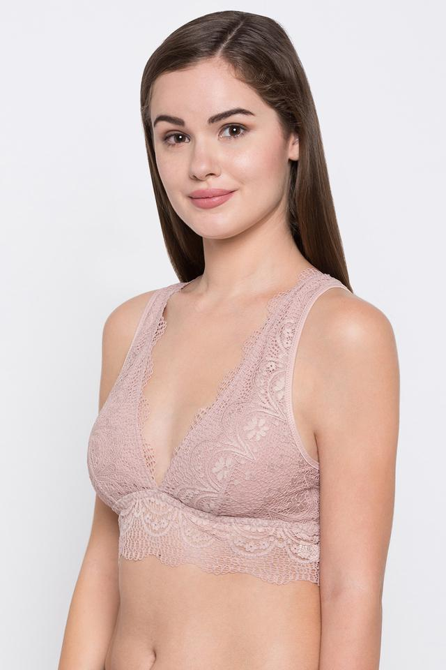 Womens Non Padded Non Wired Lace Bra