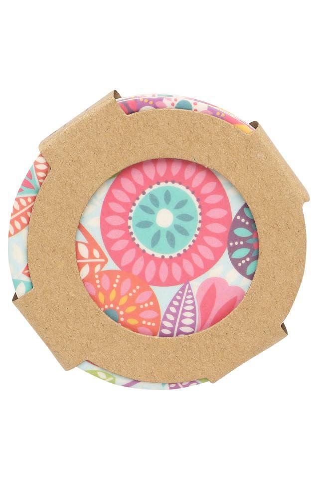 Round Fantasia Coasters Set of 4