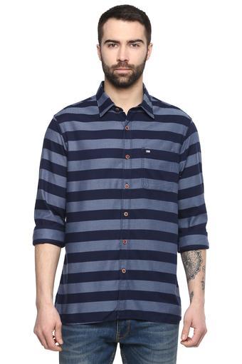 Mens Striped Casual Shirt