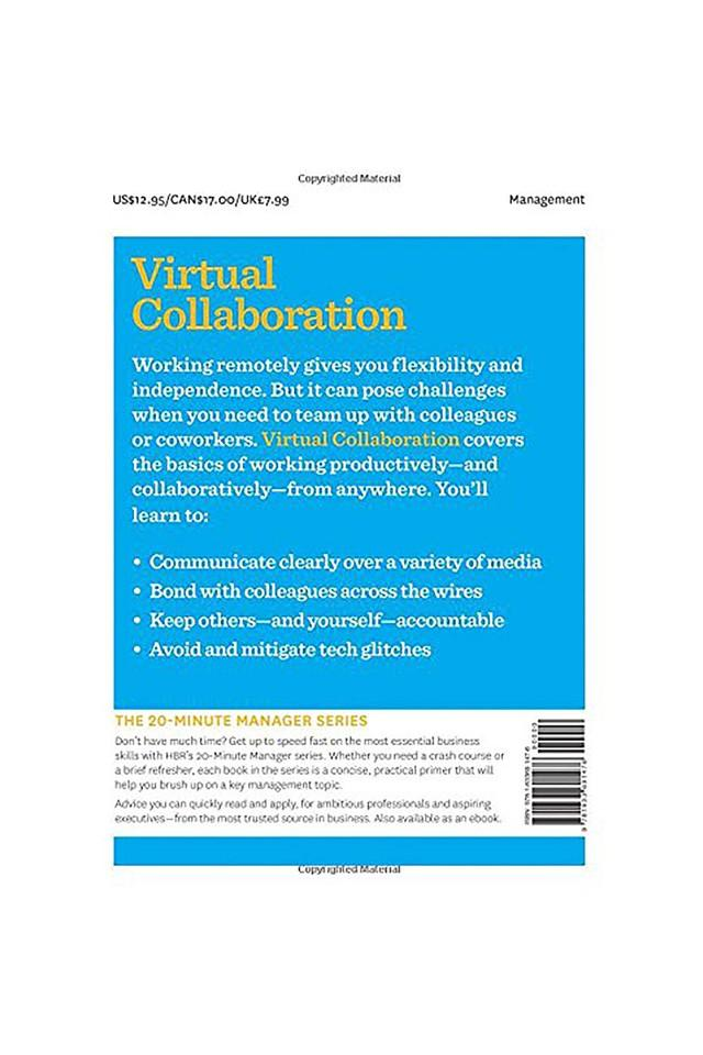 Virtual Collaboration (HBR 20-Minute Manager Series)