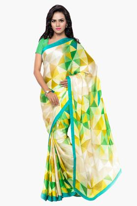 DEMARCA Womens Faux Georgette Printed Saree - 203229532