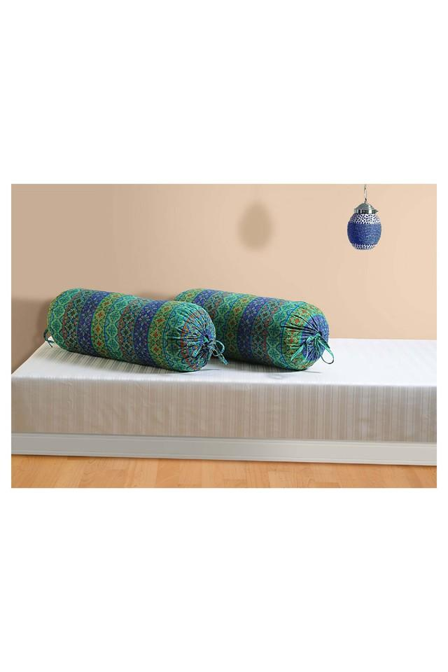 Printed Bolster Cover Set Of 2