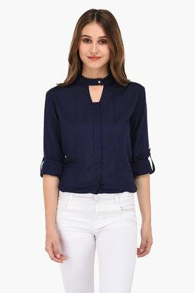 Buy Formal Checked Womens Shirt Online Shoppers Stop