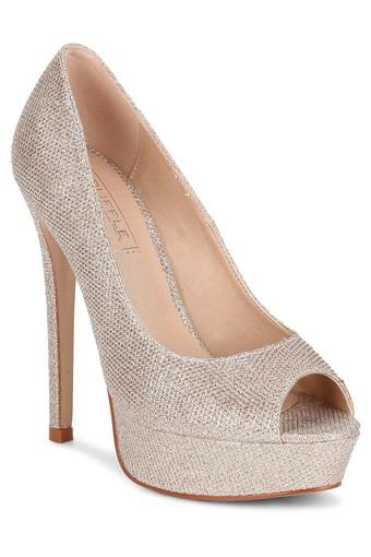 TRUFFLE COLLECTION -  ChampagneHeels - Main