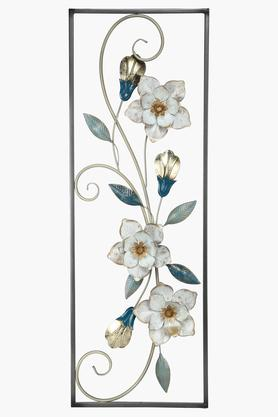IVY Floral Metal Wall Hanging