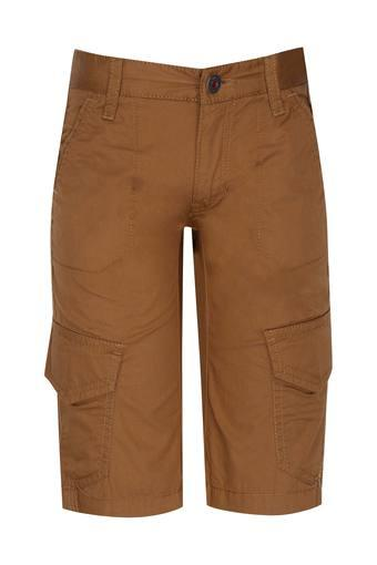 7f6f573f71 Buy INDIAN TERRAIN Boys 6 Pocket Solid Shorts | Shoppers Stop