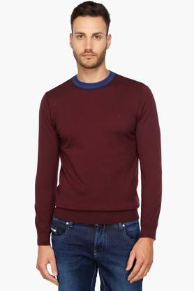 UNITED COLORS OF BENETTONMens Round Neck Sweater