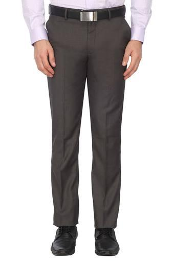 LOUIS PHILIPPE -  Grey Cargos & Trousers - Main