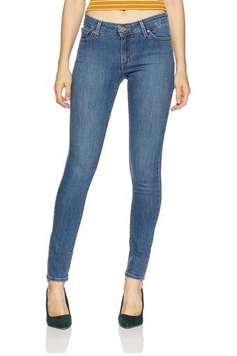 LEVIS -  Mid BlueJeans & Jeggings - Main