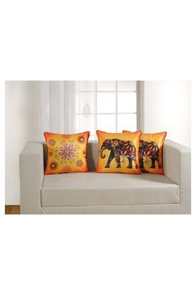 Floral Printed Cushion Cover Set Of 5