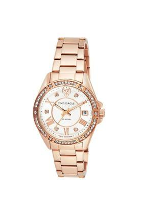 Womens White Dial Analogue Watch - SE-9138-22