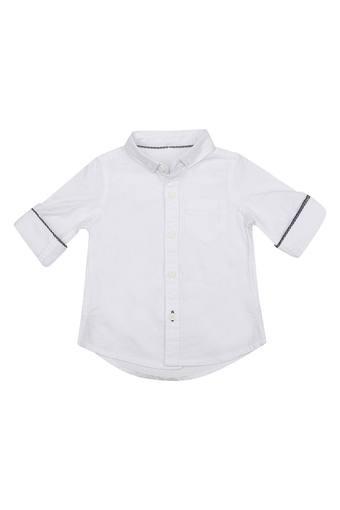 Boys Solid Shirt