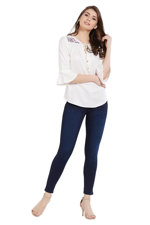 Womens 4 Pocket Jeans