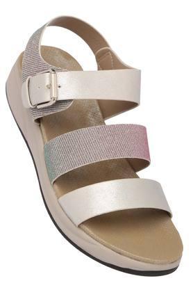 FEMINA FLAUNTWomens Casual Wear Buckle Closure Sandals - 204133651_9200