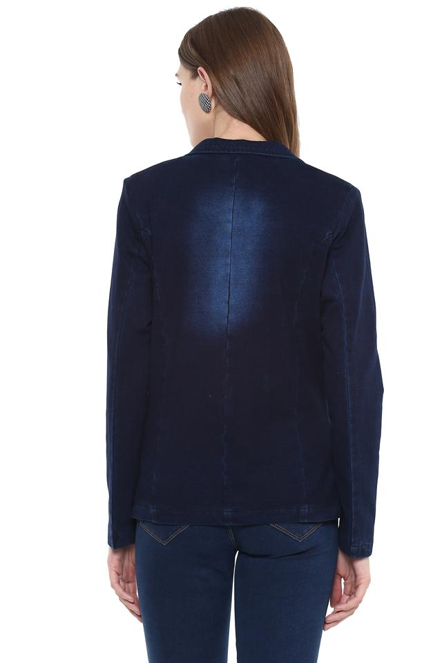 Womens Notched Lapel Assorted Jacket