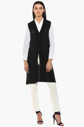 APSLEY Womens V-Neck Knitted Cardigan