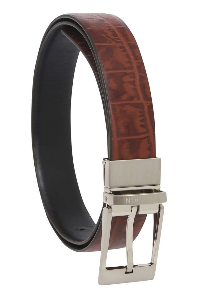 Mens Casual Buckle Closure Belt