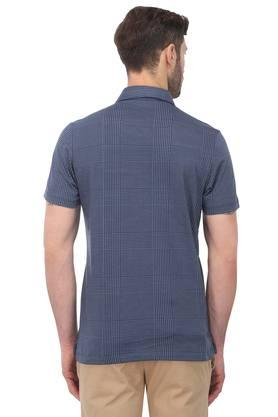 Mens Checked Polo T-Shirt