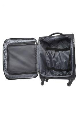 Unisex 1 Compartment Zipper Closure Soft Trolley