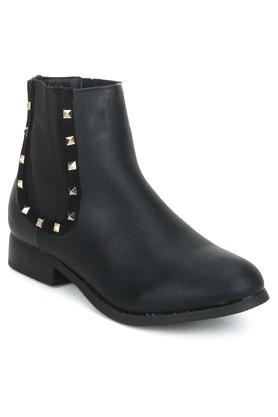 Womens Casual Wear Slipon Boots