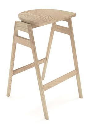 Natural Svelto bar stool