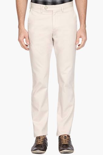 ALLEN SOLLY -  Light KhakiCargos & Trousers - Main