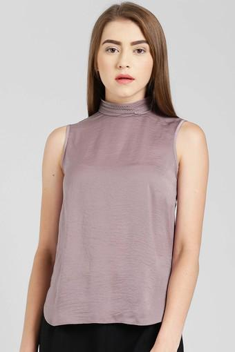 ZINK LONDON -  Taupe Tops & Tees - Main