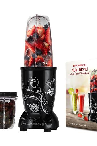 Nutri Blender with 2 Jars and Seasoning Cap