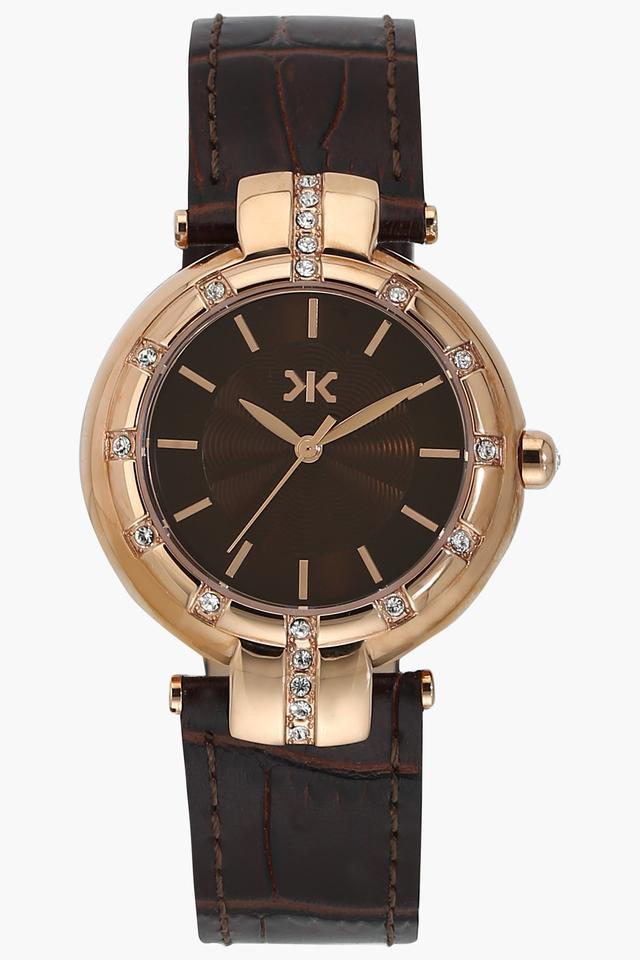 Womens Analogue Leather Watch - WI537A