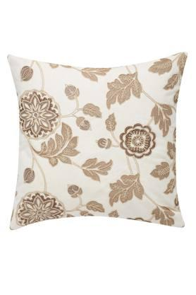 Embroidered Square Cushion Cover