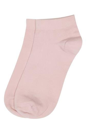 Womens Solid Socks