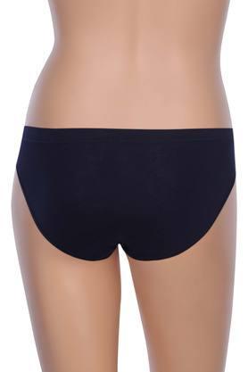 Womens Solid Bikini Briefs - Pack Of 2