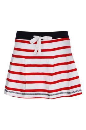 Girls Striped Skorts