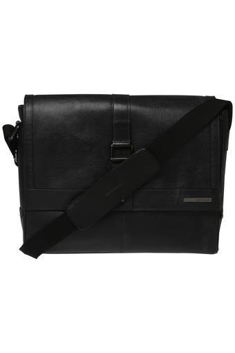 Unisex Snap Closure Laptop Messenger Bag