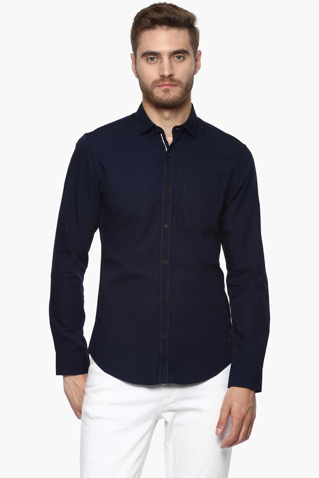 Mens Extra Slim Fit Solid Shirt