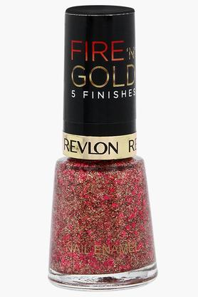 Womens Fire 'N' Gold 5 Finishes Nail Enamel